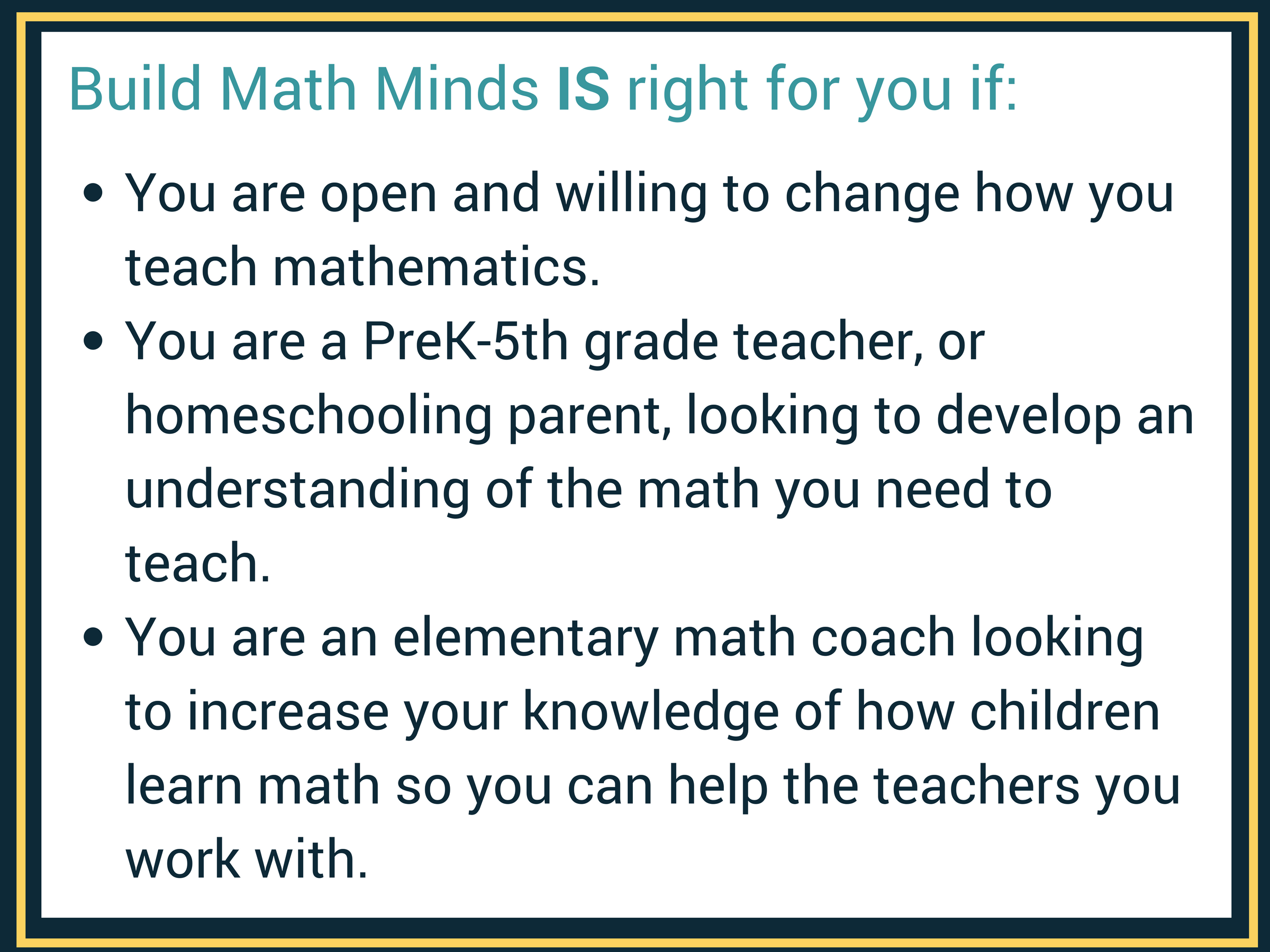 BMM | Build Math Minds