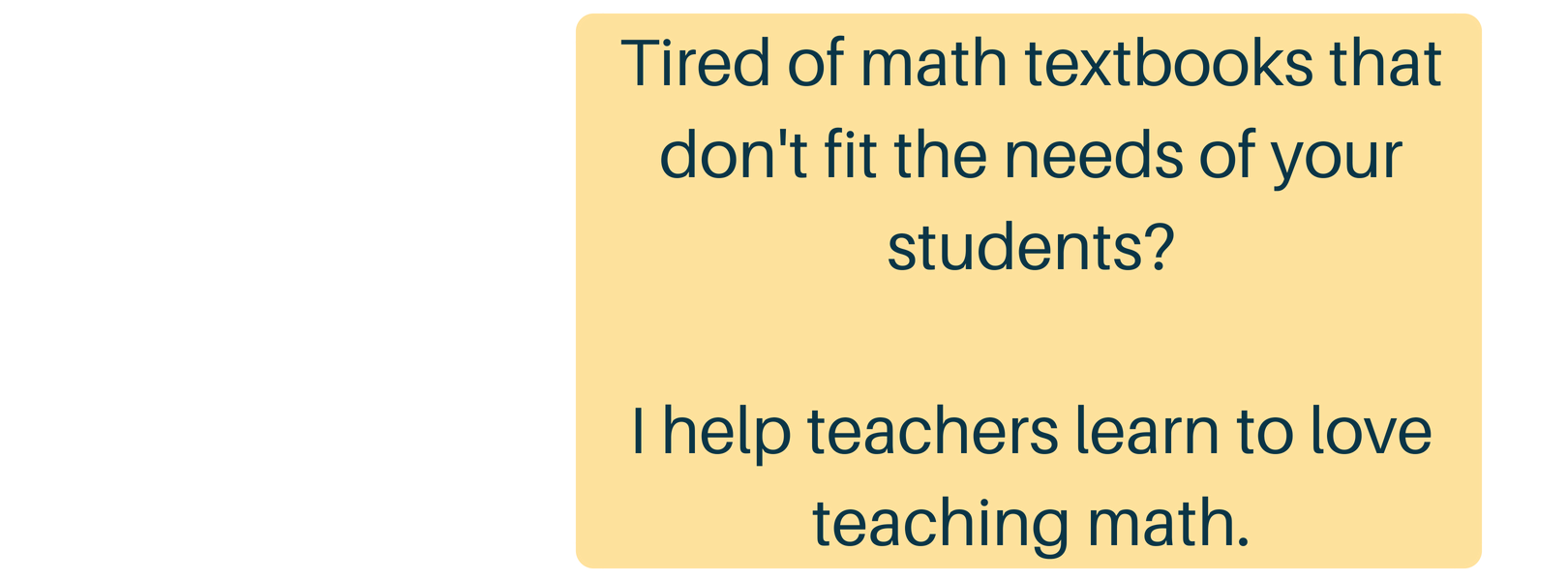 Build math minds teaching math isnt easy and for a lot of teachers it isnt funlike at all fandeluxe Choice Image